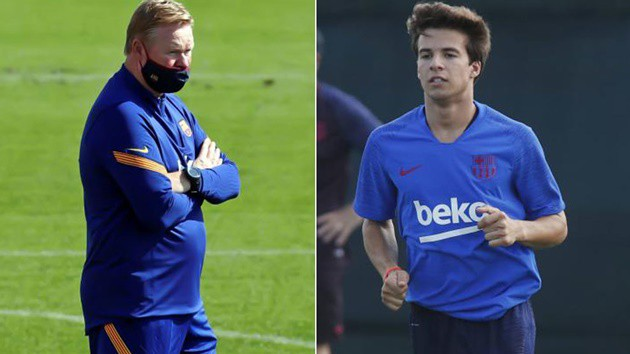 Koeman talks Messi and Riqui Puig ahead of Atletico Madrid clash - Bóng Đá