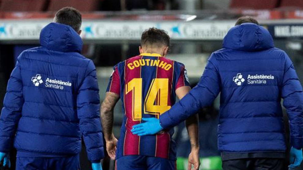 Coutinho's injury could save Barcelona 20m euros! - Bóng Đá