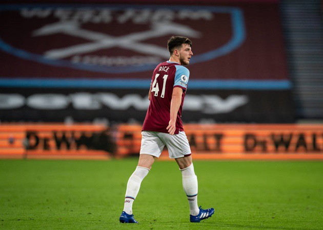 Chelsea boss Frank Lampard's planned role for Declan Rice explained amid transfer interest - Bóng Đá