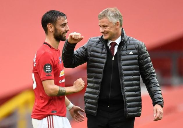 Paul Merson hails Ole Gunnar Solskjaer strength which has allowed Bruno Fernandes to shine - Bóng Đá