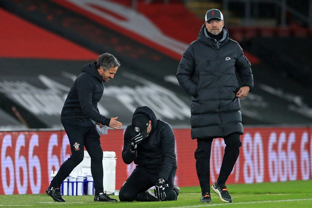 'It was the wind!' - Hasenhuttl explains post-match tears following Southampton's 'perfect' victory over Liverpool - Bóng Đá