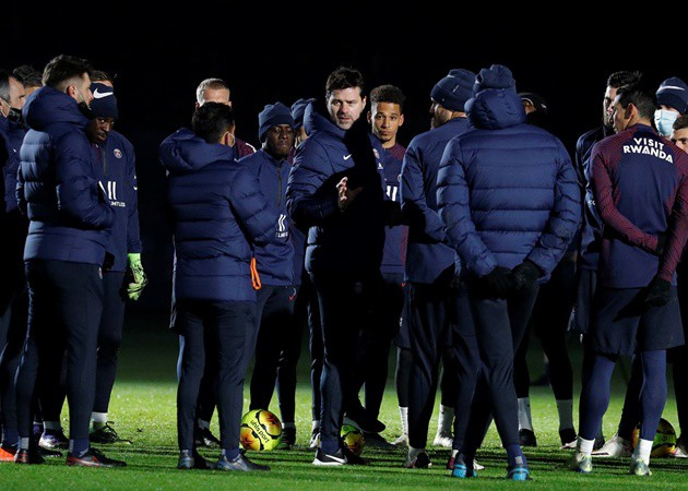 Report: Pochettino rips PSG Players during first training session with the team - Bóng Đá