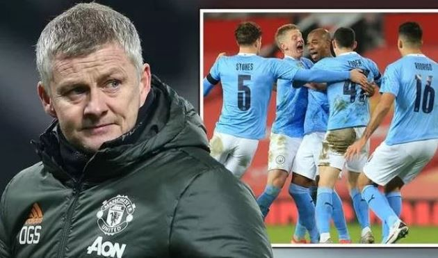 Solskjaer We met, at the moment, City are probably the best team in England.