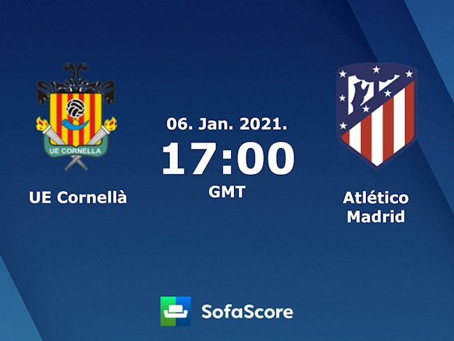 Cornella vs Atletico Madrid