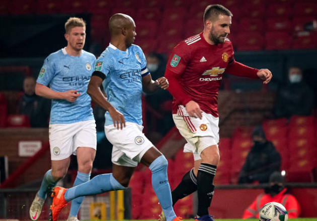 'Not the result we wanted': Shaw sends message to fans after Carabao Cup loss - Bóng Đá