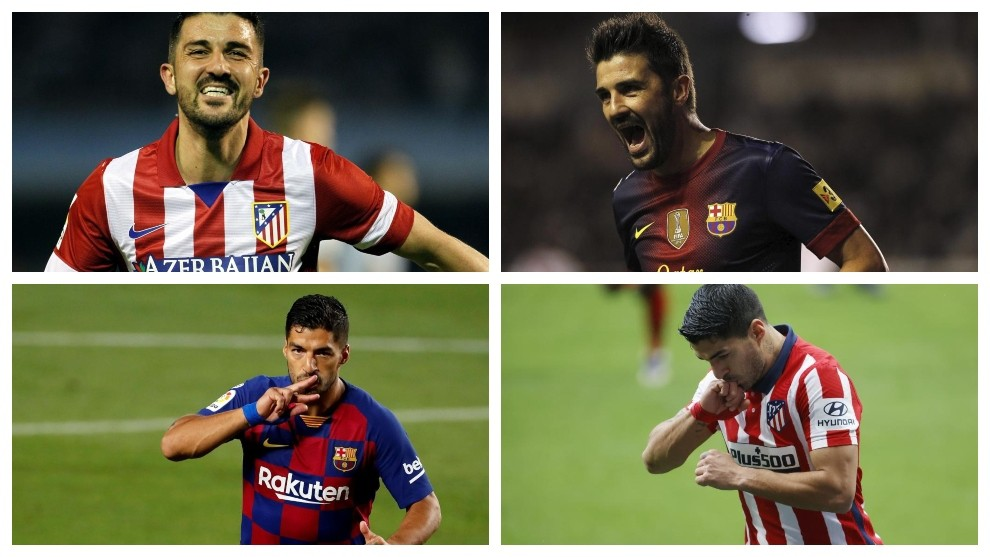 Luis Suarez and David Villa: Two parallel paths with the same ending? - Bóng Đá