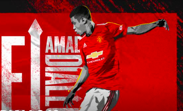 Amad Diallo is a Red - Bóng Đá