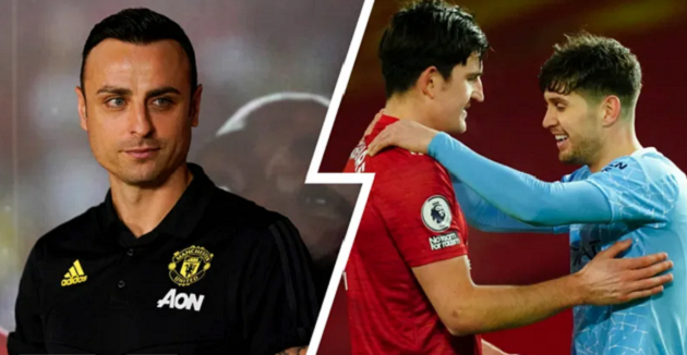 'What the f***, this is a derby': Dimitar Berbatov hits out at Man United for hugging Man City players - Bóng Đá