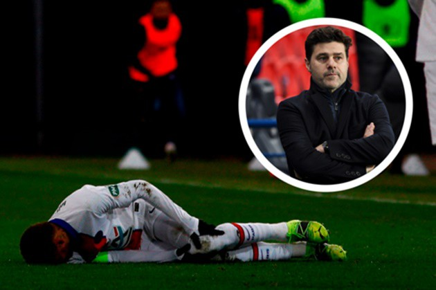 Pochettino ponders 'lack of protection' for Neymar after PSG star's worrisome adductor injury - Bóng Đá