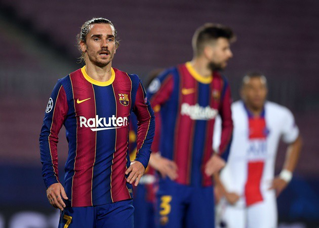 Griezmann made a mistake moving to Barcelona - Mathieu - Bóng Đá