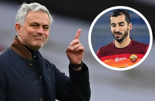 'Mourinho doesn't care if we play bad football' - Mkhitaryan shunned other offers to remain at Roma - Bóng Đá