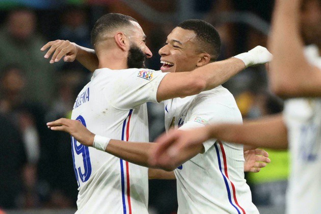 Mbappe to Benzema: That's all we want - Bóng Đá
